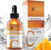 Sylk Vitamine C Serum & Hyaluronzuur serum | Anti Aging | Anti Rimpel | Gezicht Serum | Gezichtsverzorging | 30 ml