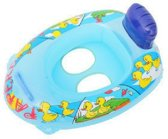 Zwembad boot kinderen klein | opblaasbaar 40x59cm | blauw/rood  | peuter | baby | bootje | | bootjes
