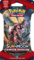 Pokémon Sun & Moon Crimson Invasion Sleeved Booster - Pokémon Kaarten
