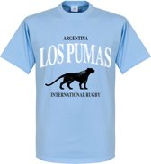 Argentinië Rugby T-Shirt - Lichtblauw - S