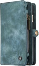 Caseme - iPhone 6 Plus / 6s Plus Hoesje - Uitneembare Portemonnee  Vintage Blauw