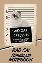 Bad Cat Himalayan Notebook