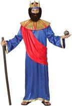 Koning Prins & Adel Kostuum | Bijbelse Koning Hiram Van Tyrus | Man | Small | Carnaval kostuum | Verkleedkleding