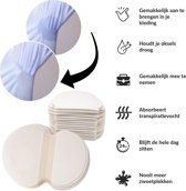 Okselpads 100 stuks Okselpads - anti zweet pads - zweet pads - anti transpirant pads - overmatig zweten - zweet oksels
