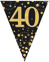 Vlaggenlijn 40 jaar Zwart Goud