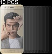 Let op type!! 10 stuks voor Huawei Honor 9 0 26 mm 9H oppervlaktehardheid 2.5D gebogen rand gehard glas Screen Protector