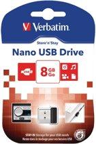 Verbatim 97463 Store 'n' Stay NANO USB-drive 8 GB