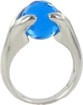 Verwisselbare Steen Ring - 925 Zilver - 17mm - ER01317