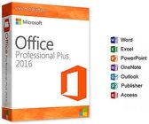 Microsoft Office 2016 Professional Nederlands,  geen abbonnement
