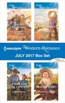 Harlequin Western Romance July 2017 Box Set