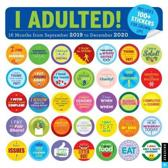 I Adulted! 2019-2020 16-Month Wall Calendar