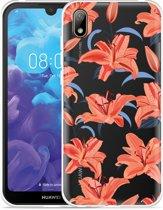 Huawei y5 2019 Hoesje Flowers