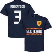 Schotland Robertson 3 Team T-Shirt  - Navy - L