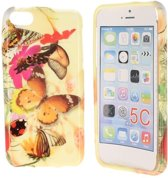 iPhone 5C Special Silicon Case Hoesje - Art Of Life