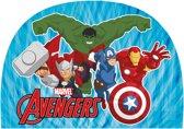 Marvel Badmuts Avengers Junior One Size Blauw