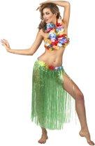 Hawaïaanse lange rok in het groen voor volwassenen - Verkleedkleding