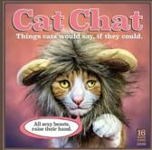 Cat Chat: Things Cats Would Say If They Could 2020 Square Wall Calendar