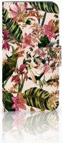 Huawei Honor 4A | Y6 Uniek Boekhoesje Flowers