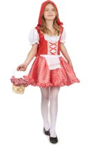 Roodkapje sprookjes outfit voor meisjes - Verkleedkleding