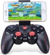 Gen Game S6 Deluxe – Draadloze Bluetooth Gamepad - Joystick - Game Controller - voor Smartphone, Tablet, Playstation 3, TV en PC - Android, Android TV, Windows en PS3