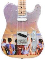 Miniatuur gitaar Pink Floyd