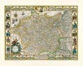 Historische Karte: Deutschland - Germania, Reprint 1607