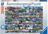 Ravensburger puzzel 99 mooie plekken in Europa - legpuzzel - 3000 stukjes