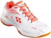 Yonex Badmintonschoen Shb-65x2 Dames Wit/oranje Maat 40