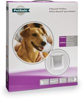 Petsafe 740 Hondenluik - Wit/Transparant - Medium - 35 x 26,5 cm