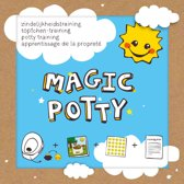 Magic Potty™ - Zindelijkheidstraining kind - Set-4: boekje, magic stickers, beloningsstickers, stappenplan