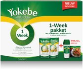 Yokebe Natural Honey Maaltijdshake + 1 Week Turbo - Afvallen - 1000 gram