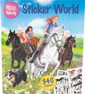 Miss Melody kleur- en stickerboek