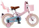 Popal Little Miss Kinderfiets - Meisjes - Roze - 12 Inch