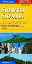 KUNTH Reisekarte Slowakei 1 : 300 000