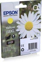 Epson 18XL (T1814) - Inktcartridge / Geel / Hoge Capaciteit