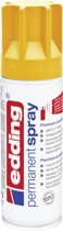 edding 5200 permanent spray premium acrylverf zonnegeel mat RAL 1023
