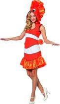 Driebandanemoonvis Clownvis Nemo | Vrouw | Maat 38 | Carnaval kostuum | Verkleedkleding