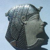 Egyptiche Broche ook te dragen als hanger