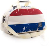 Brabo Flag Nederland Schoudertas Kinderen Beige Rood Blauw Wit