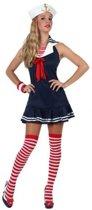 Matrozen verkleedjurkje/carnaval kostuum voor dames - carnavalskleding - voordelig geprijsd XL (42-44)
