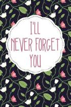 I'll Never Forget You: Password Book, UsernameKeeper, and Internet Organizer