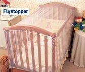 Baby Klamboe Muskietennet voor Campingbed en Ledikant - 136x90x60 cm | Flystopper BN136