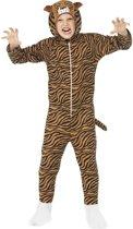 Tijger onesie kostuum voor kinderen / dierenpak - maat 128-140