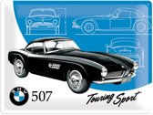 Nostalgic Art Metalen plaat BMW Classics