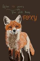 13 Years Fox Journal