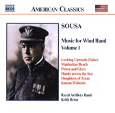 Sousa:Music For Wind Band Vo.1