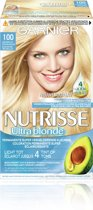 Garnier Nutrisse Stralend Blond 100 -Natuurlijk Zeer Zeer Lichtblond - Haarverf