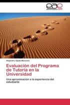 Evaluacion del Programa de Tutoria En La Universidad