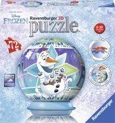 Ravensburger puzzleball Disney Frozen Olaf´s adventures - 3D Puzzel - 72 stukjes
