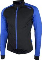 Rogelli Caluso 2.0 Fietsshirt - Heren - Maat XL - Lange mouwen - Zwart/Blauw